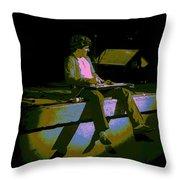 Hagar In Spokane 1977 Throw Pillow