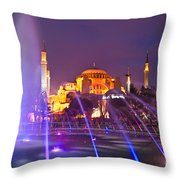 Hagia Sophia - Istanbul Throw Pillow