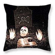 Halloween Spooks Throw Pillow