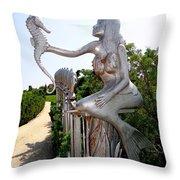Hamptons Hideaway Throw Pillow
