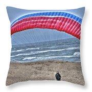 Hang Glider 2 Throw Pillow