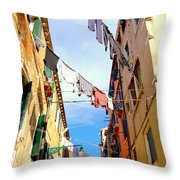 Hanging In Venice Throw Pillow