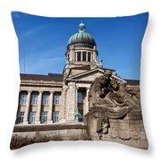 Hanseatic Supreme Court Of Hamburg Throw Pillow