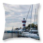 Harbourtown Harbor Throw Pillow