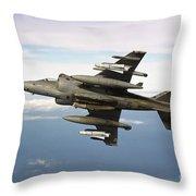 Harrier Gr7 Throw Pillow