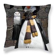 Harry Christmas Throw Pillow