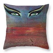 Hathor Throw Pillow