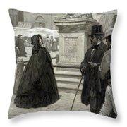Hawthorne The Marble Faun Throw Pillow