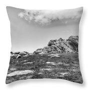 Haytor Rock Throw Pillow