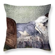 Helen Jewett (1813-1836) Throw Pillow
