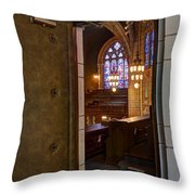 Hennepin Avenue Methodist Church Throw Pillow