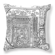 Henry Viii (1491-1547) Throw Pillow
