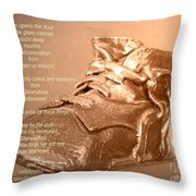 Her Father's Belongings Throw Pillow