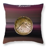 Hercules Throw Pillow