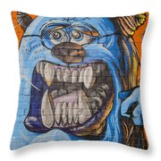 Here Today - Gone Tomorrow Throw Pillow