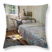 Heritage Cottage Museum On Bowen Island Throw Pillow