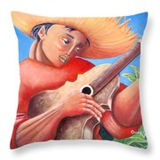 Hidalgo Campesino Throw Pillow