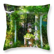 Hidden Garden Throw Pillow
