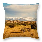 High Desert Plains Landscape Throw Pillow
