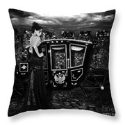 High Fashion Carriage Throw Pillow