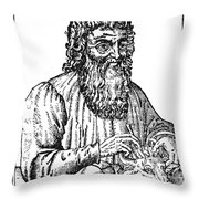 Hippocrates (c460-c377 B.c.) Throw Pillow