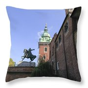 Historic Centre Cracow Poland  Throw Pillow