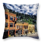 Historic Deadwood Throw Pillow