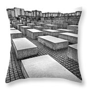 Holocaust Memorial - Berlin Throw Pillow