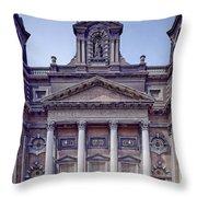 Holy Trinity Church - Chicago Throw Pillow