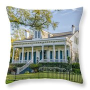 Home On St. Charles Ave - Nola Throw Pillow