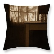Homestead Kitchen Throw Pillow by Bonnie Bruno