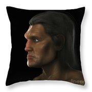 Homo Sapiens Throw Pillow