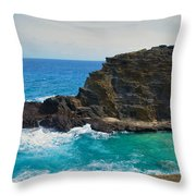 Honolulu Hi 11 Throw Pillow