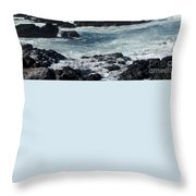 Hookipa Maui Hawaii Throw Pillow