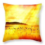 Hope On A Wing And A Prayer Throw Pillow