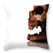 Horror Head Throw Pillow