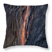 Horsetail Falls 9935 Throw Pillow