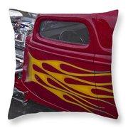 Hot Dual Throw Pillow