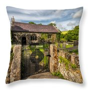 House Of God Throw Pillow
