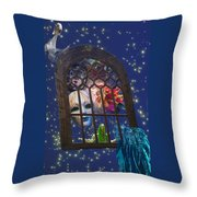 How Masks Are Born Throw Pillow