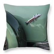 Hudson Hornet Throw Pillow
