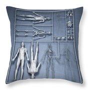 Human Cloning Throw Pillow