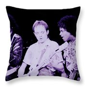 Humble Pie - On To Victory Tour At The Cow Palace S F 5-16-80 Throw Pillow