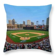D24w-299 Huntington Park Photo Throw Pillow