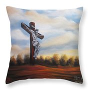 I Am Always With You Throw Pillow