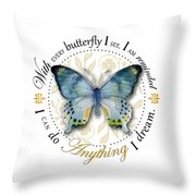 I Can Do Anything I Dream Throw Pillow