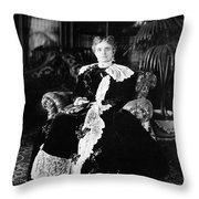 Ida Mckinley (1847-1907) Throw Pillow