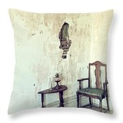If Walls Could Talk Throw Pillow