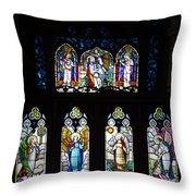 Igreja Luterana Of Petropolis- Brazil Throw Pillow
