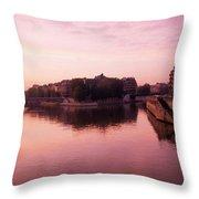 Ile St. Louis Throw Pillow